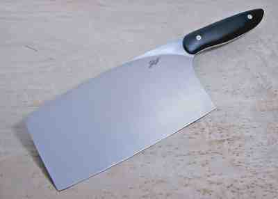 Oriental Cleaver with Micarta Handle