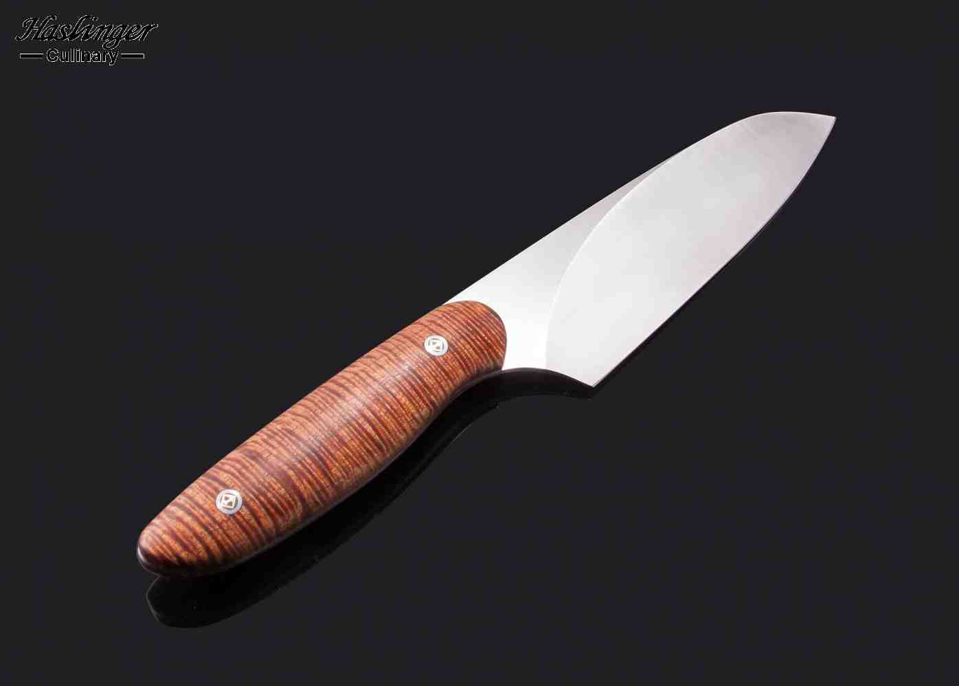 Curly Koa Evolution Chef Knife 140 mm other view